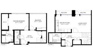 Roman House, Floor Plan